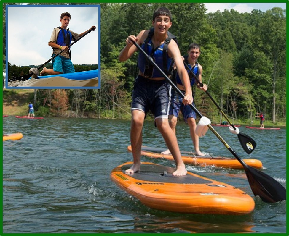 Scouts Paddleboarding